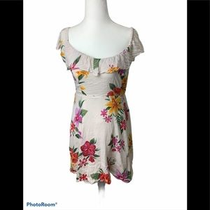 3/$30 Old Navy floral skater style dress , small